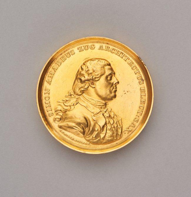 Szymon Bogumił Zug (1733-1807) - medal zaszczytny, 1781, MHW 1469 [1]
