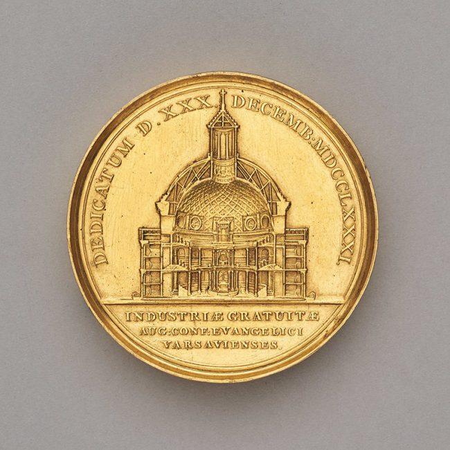 Medal dedykowany Szymonowi Bogumiłowi Zugowi, MHW 1469