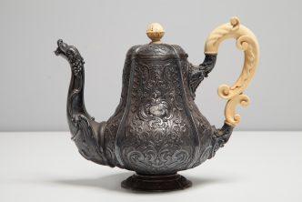Zakup srebrnego kompletu śniadaniowego Augusta Teodora Wernera
