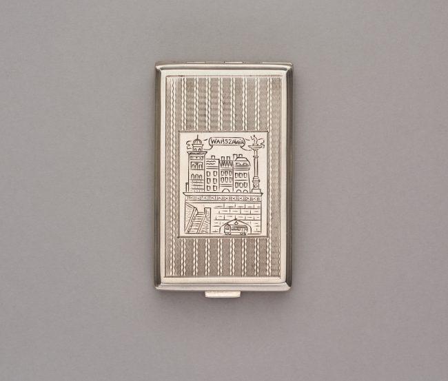 Papierośnica z widokiem Trasy W-Z, MHW 29335