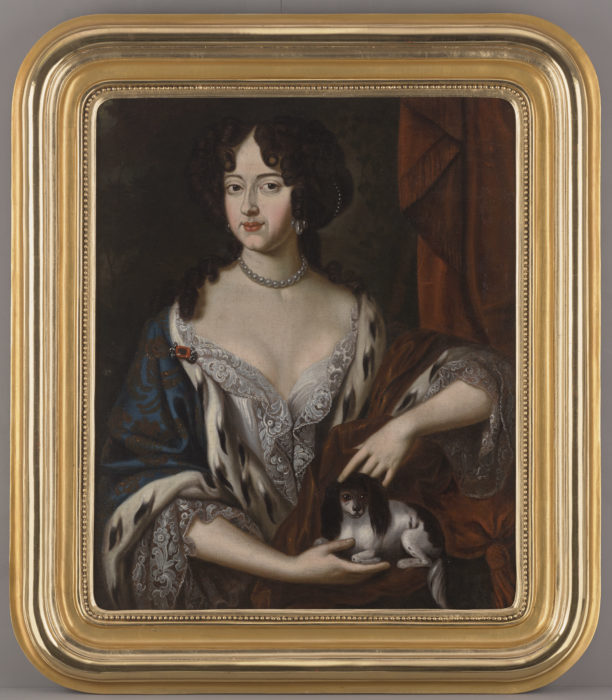 Portret Marii Kazimiery Sobieskiej (1641-1716), Królowej Polski
