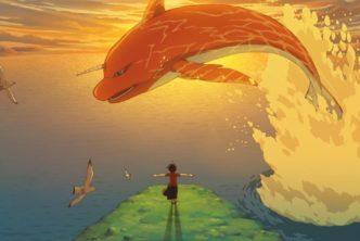 Kadr z filmu animowanego Duża ryba i begonia, mat. dystrybutoraKadr z filmu animowanego Duża ryba i begonia, mat. dystrybutora