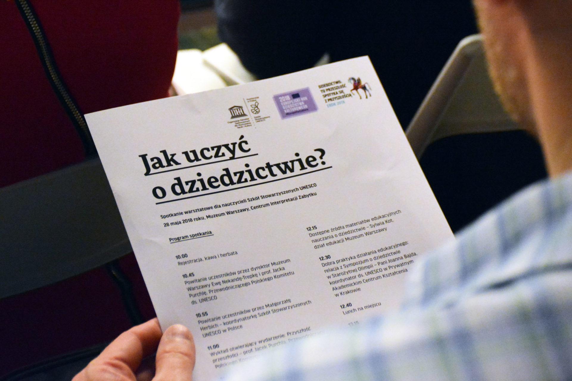 Podsumowanie seminarium iwarsztatów dla nauczycieli Szkół Stowarzyszonych UNESCO