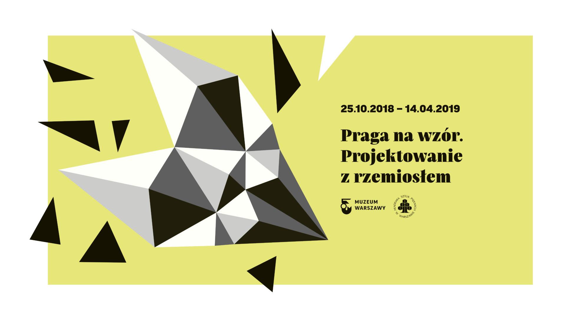 Program towarzyszący wystawie Praga nawzór. Projektowanie zrzemiosłem