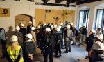 Konferencja prasowa w remontowanych wnętrzach Muzeum Warszawy