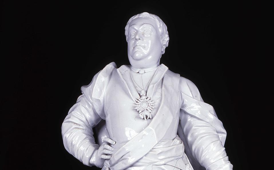 Nasz człowiek wPekinie – porcelanowy August III