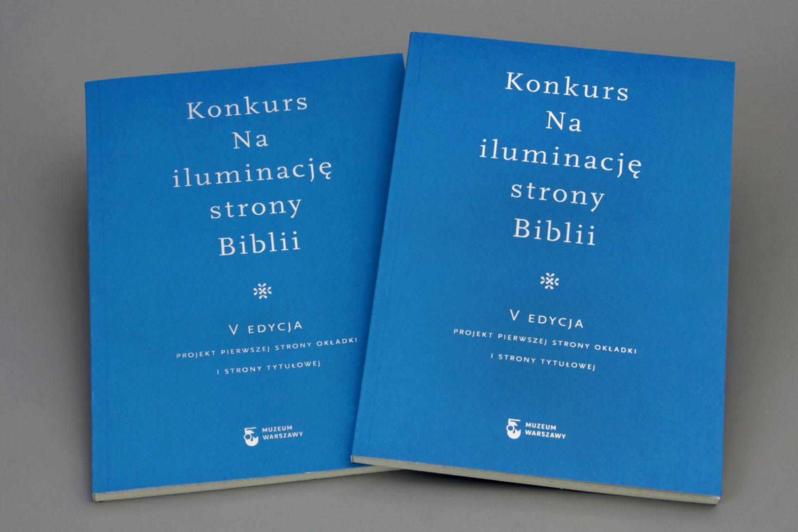Nailuminację strony Biblii. Projekt pierwszej strony okładki istrony tytułowej