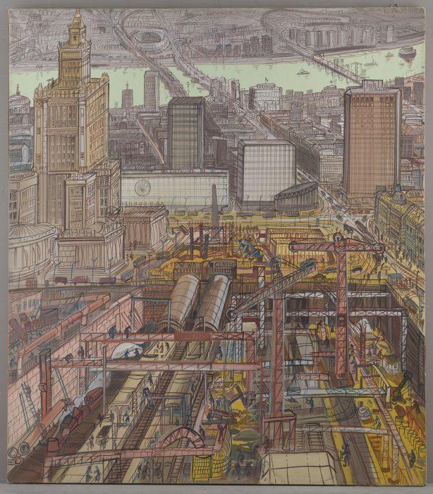 Budowa Dworca Centralnego (Dwie budowy), MHW 18772