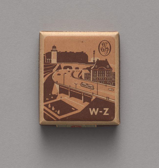 Pudełko po papierosach W-Z, MHW 25573