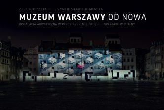 Zaczynamy odnowa! Witamy wMuzeum Warszawy