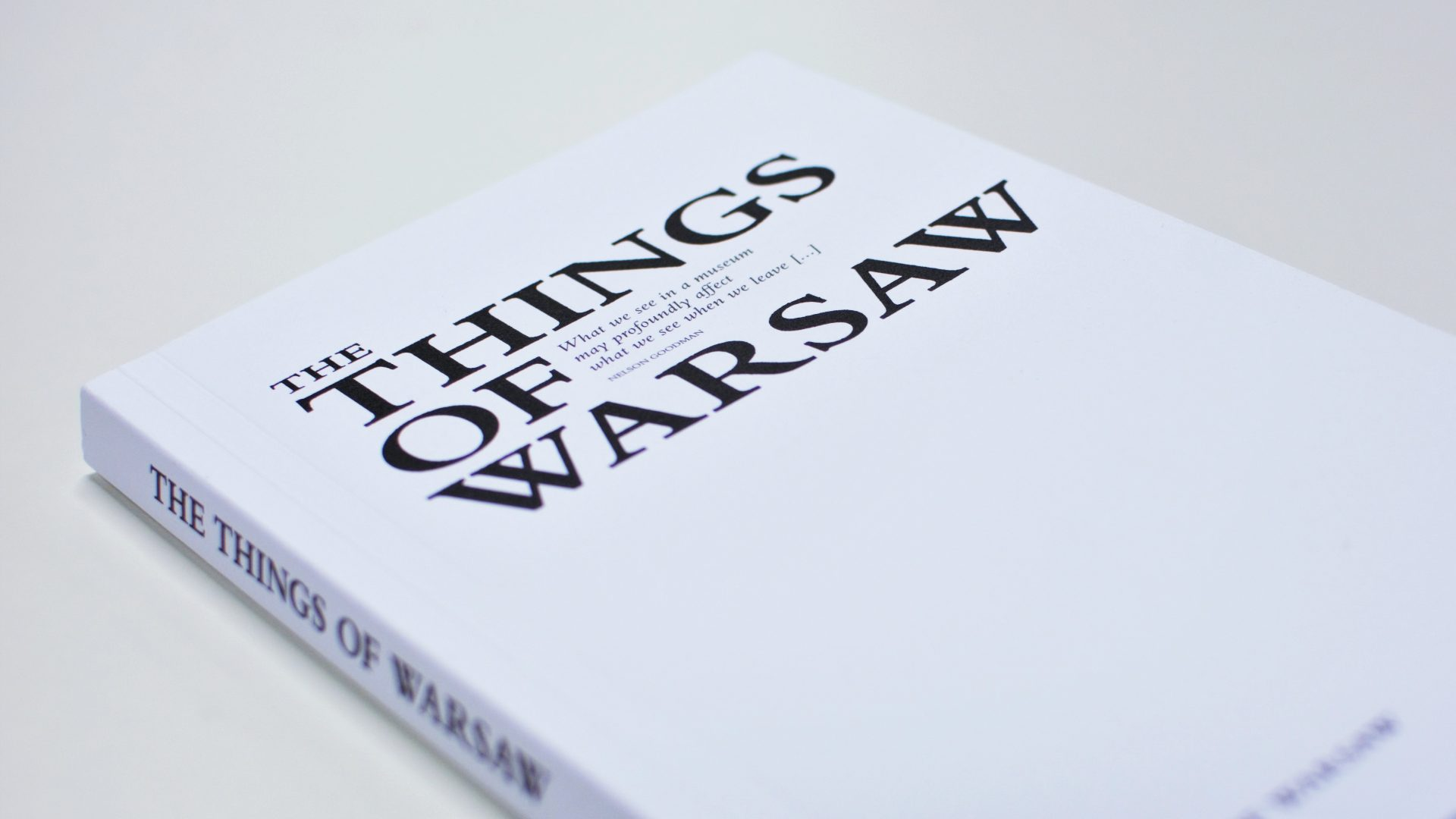 """""""The Things of Warsaw"""" book"""