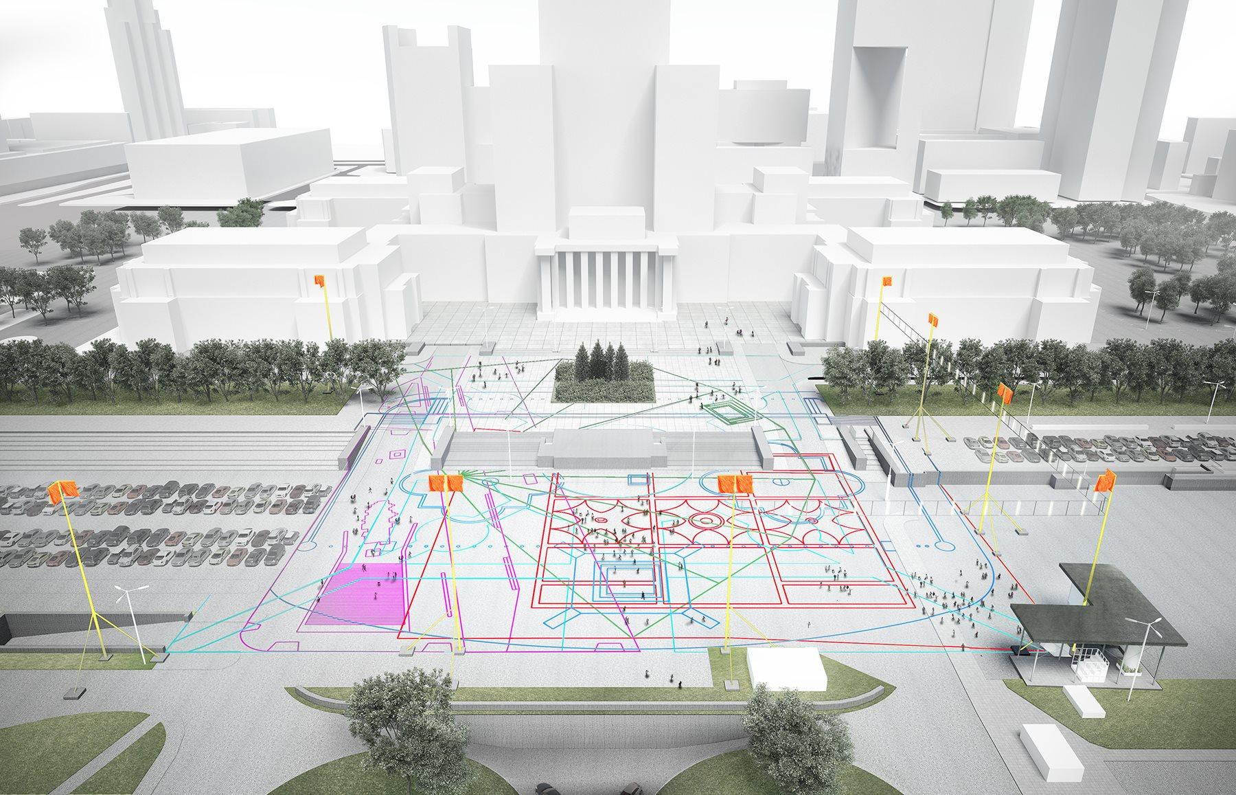 Muzeum Sztuki Nowoczesnej iMuzeum Warszawy zmieniają plac Defilad