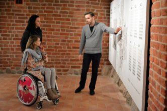 Miss Wheelchair World 2017 odwiedziła Muzeum Warszawy