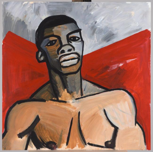 Portret Augusta Agboli O'Browna ps. Ali (1895–1976), uczestnika powstania warszawskiego