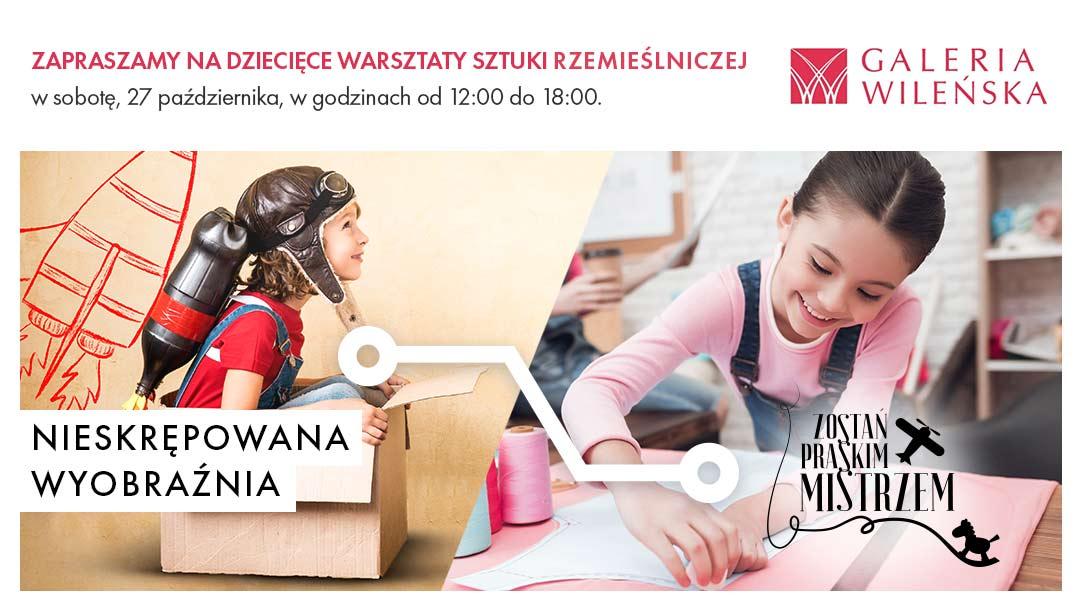 """""""Zostań Praskim Mistrzem"""" wGalerii Wileńskiej 27 października"""