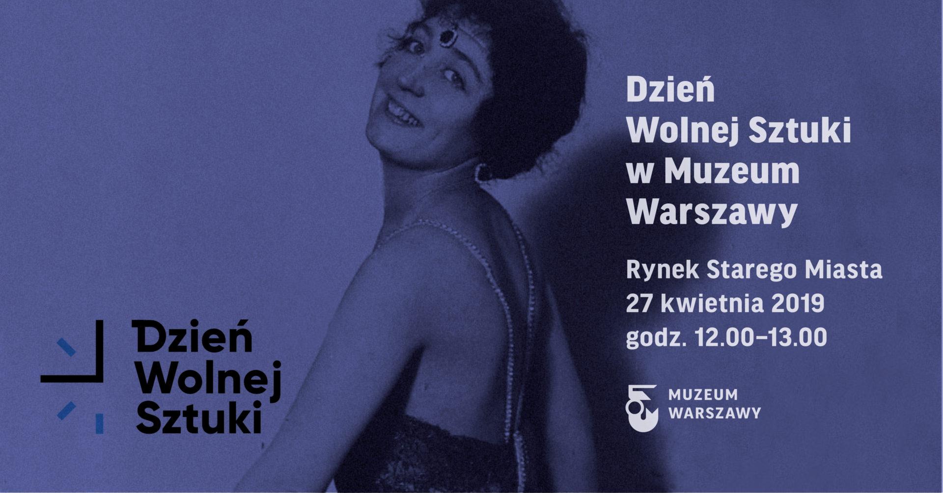 Dzień Wolnej Sztuki wMuzeum Warszawy