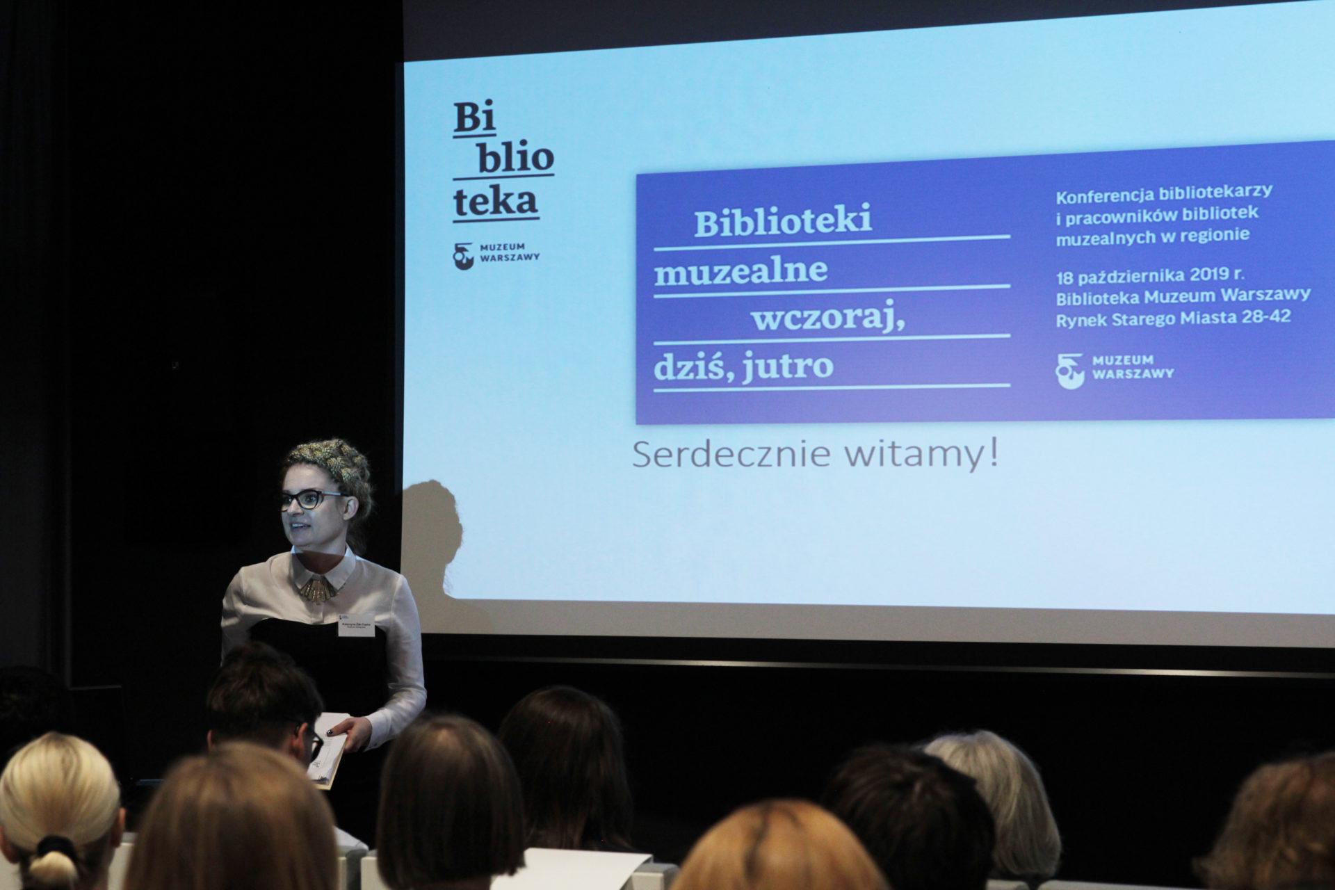 """Konferencja """"Biblioteki muzealne wczoraj, dziś, jutro"""" wMuzeum Warszawy"""