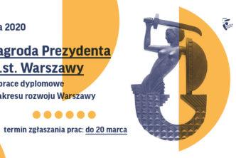 Prace dyplomowe orozwoju Warszawy – 5. edycja konkursu
