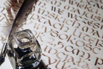 Muzealny Kurs Kaligrafii wMuzeum Drukarstwa