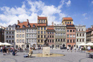 Kamienice Muzeum Warszawy przy Rynku Starego Miasta