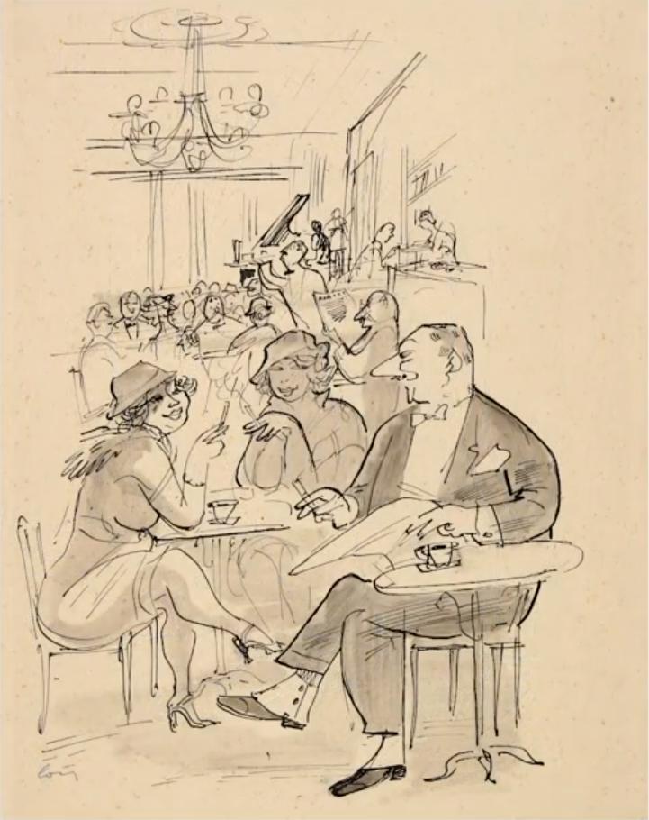 Humorystyczne rysunki Włodzimierza Bartoszewicza
