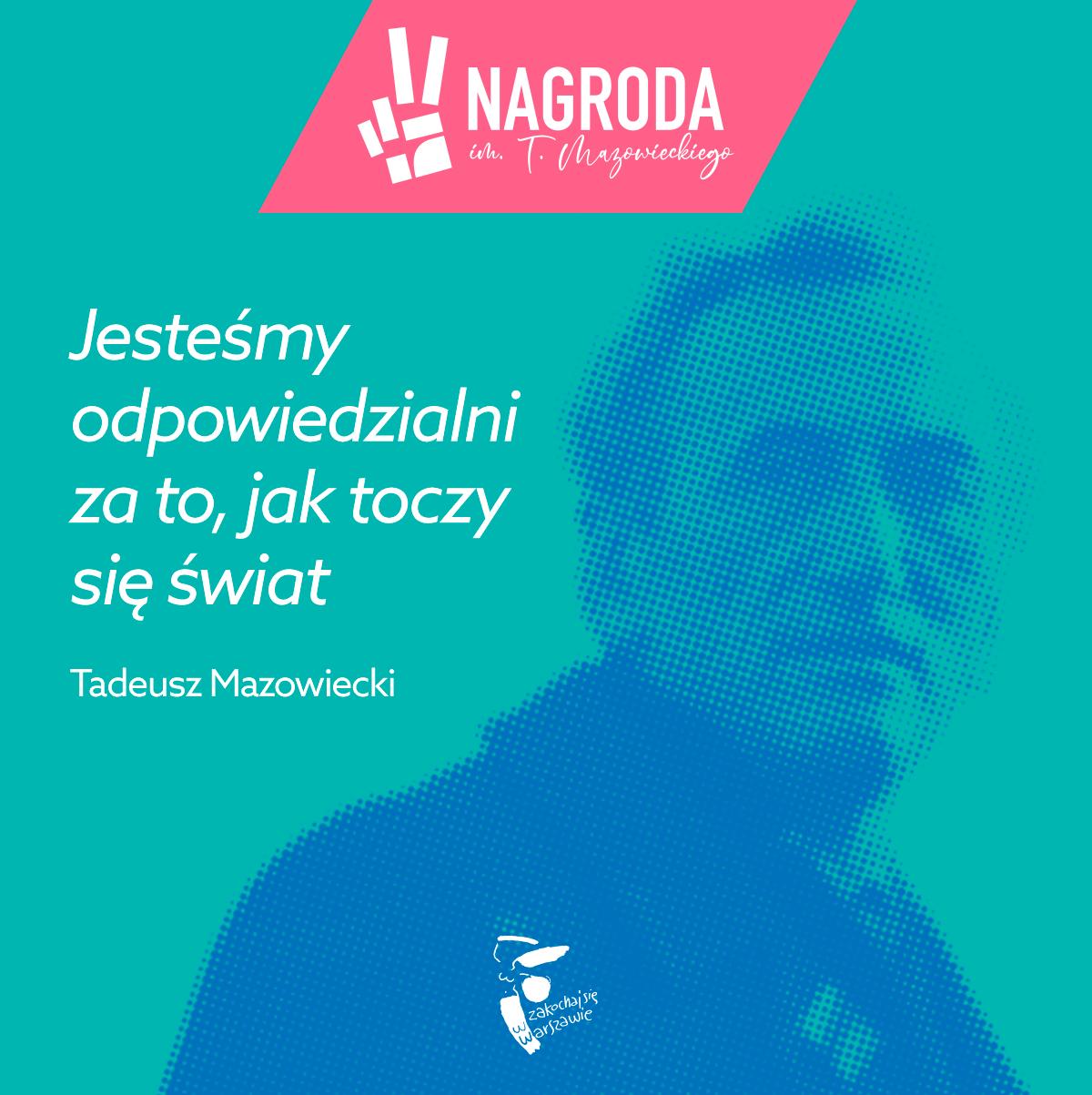 I edycja Nagrody Prezydenta m.st. Warszawy im. Tadeusza Mazowieckiego 2020