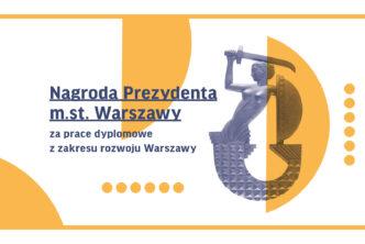 Piąta edycja Nagrody Prezydenta zanajlepsze prace dyplomowe rozstrzygnięta!