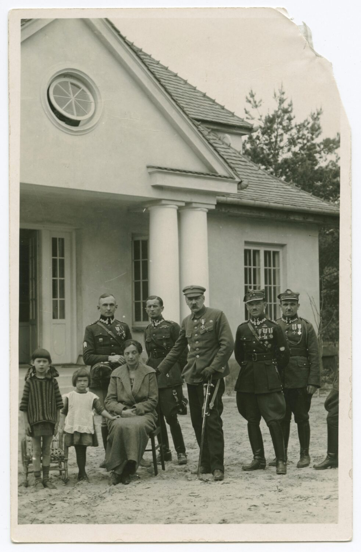 Powitanie Piłsudskiego naPradze