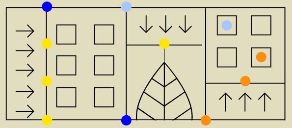 Grafika nabeżowym tle abstrakcyjne geometryczne kształty.
