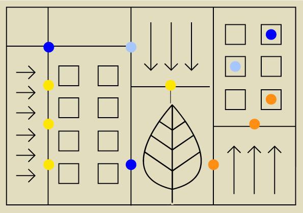 Grafika nabeżowym tle abstrakcyjne geometryczne kształty