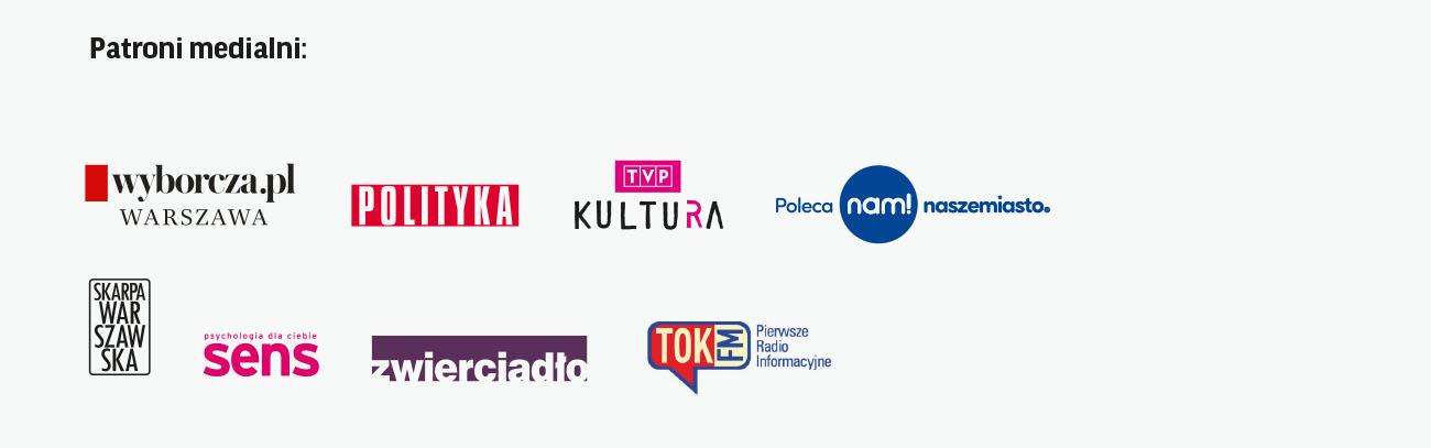 Patroni medialni logotypy
