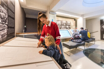 Guided tours in english in the Heritage Interpretation Centre