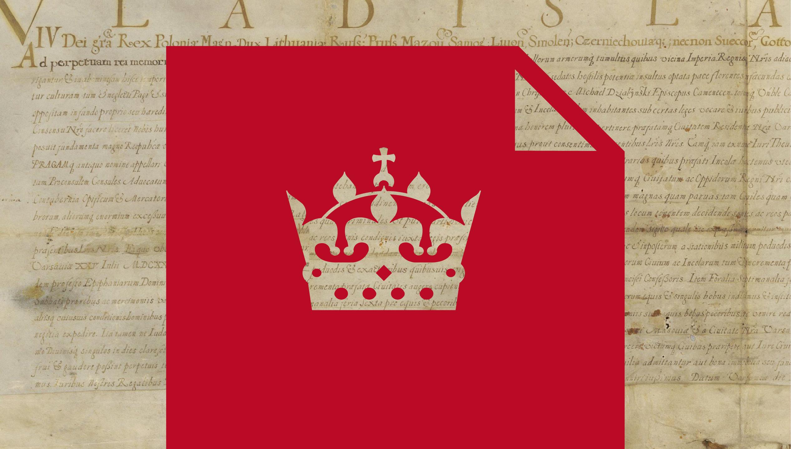 Akt urodzenia Pragi   Prezentacja oryginalnego aktu lokacji z XVII wieku